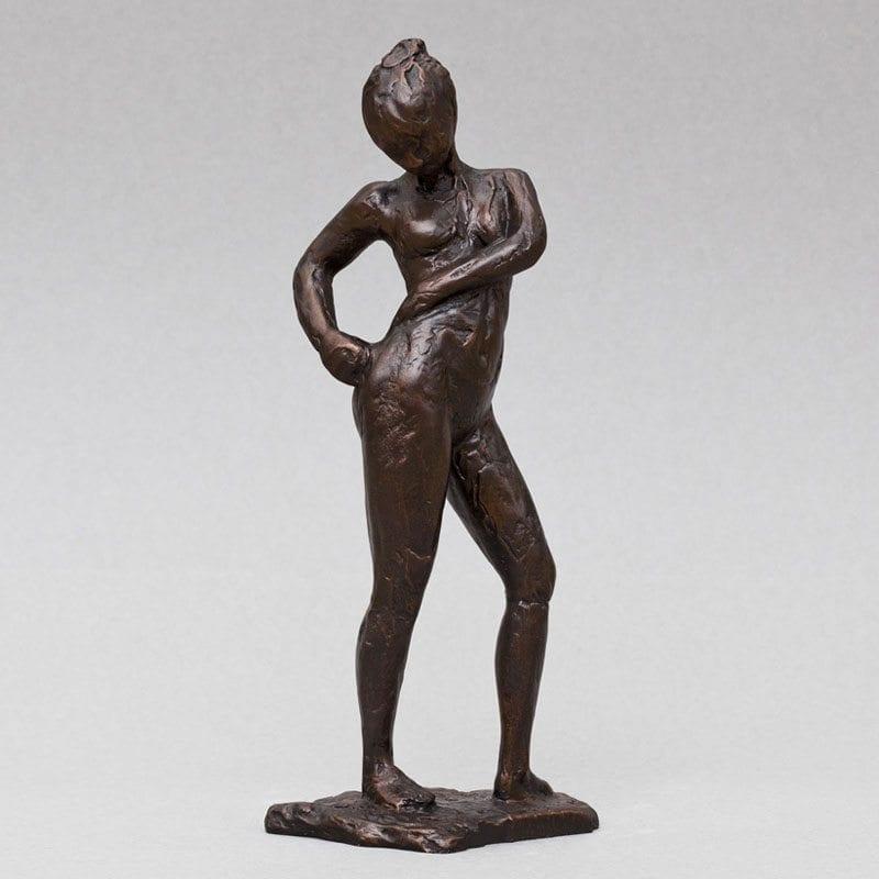 danserinde der binder Degas Dancer