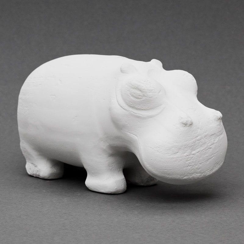 Hippopotamus Egyptian plaster cast
