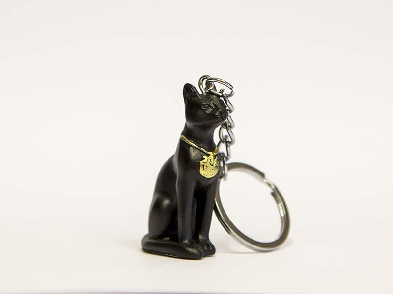 ægyptisk kat nøglering Bastet