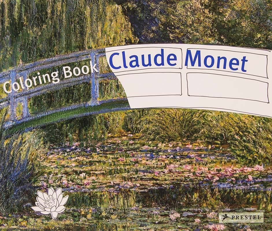 Claude Monet malebog coloring book