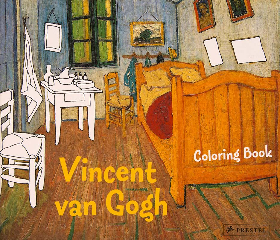 Vincent van Gogh malebog coloring book