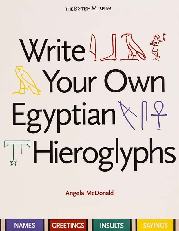 Write your own hieroglyphs