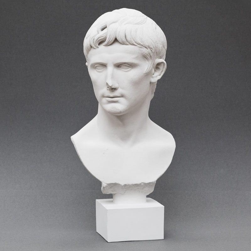 Augustus plaster cast