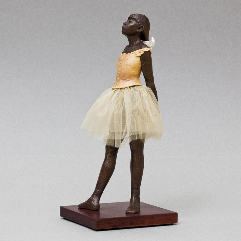 Den lille danserinde Degas The Little 14 Year Old Dancer