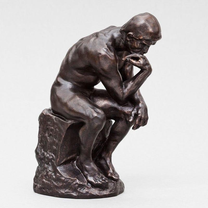 The Thinker Rodin Grubleren