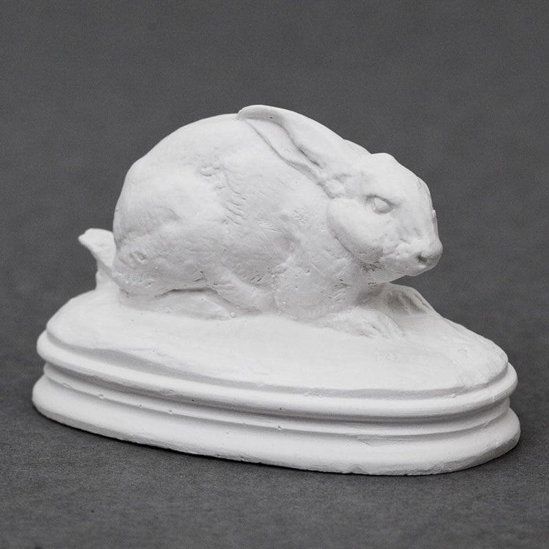 Hare Barye plaster cast