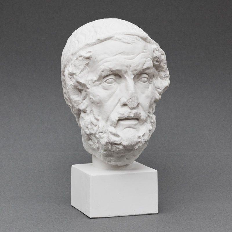 Homer plaster cast