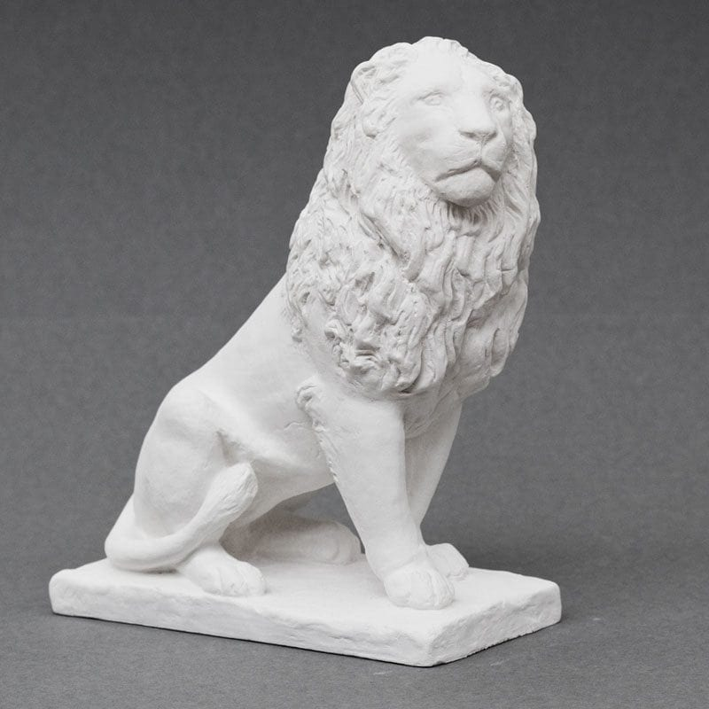 The Lion of Isted plaster cast