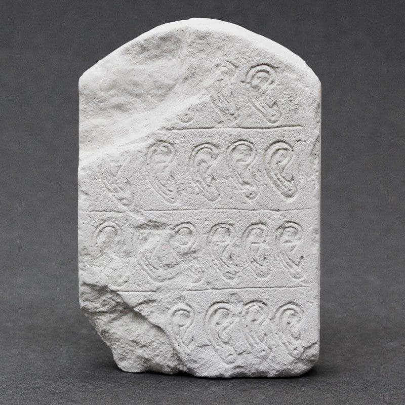 Ear Stele Egyptian plaster cast