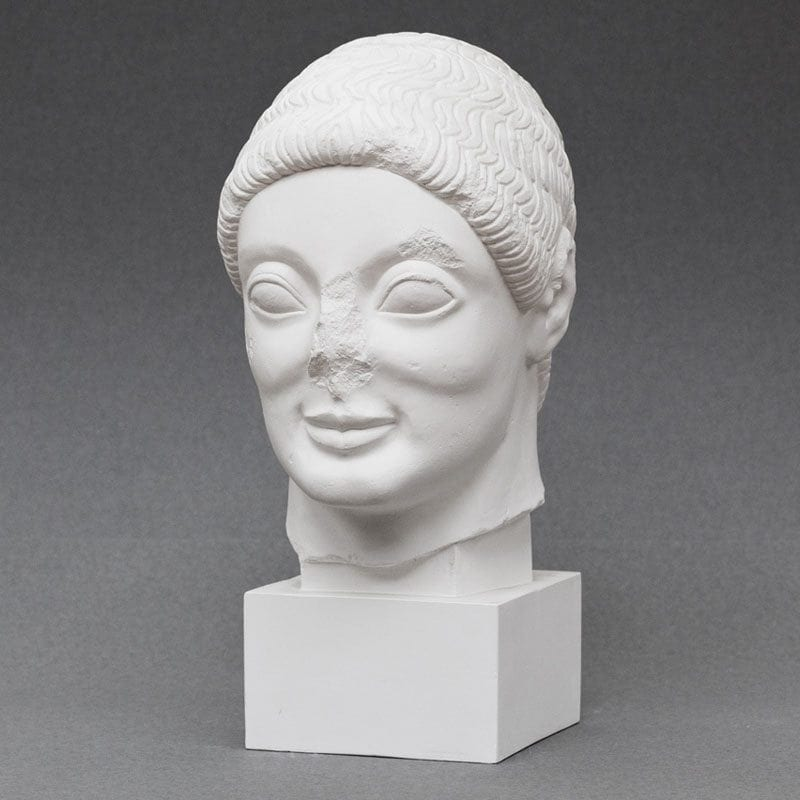 Rayet Head plaster cast