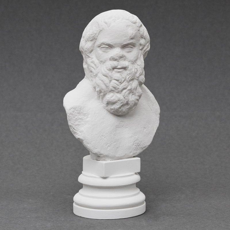 Socrates plaster cast