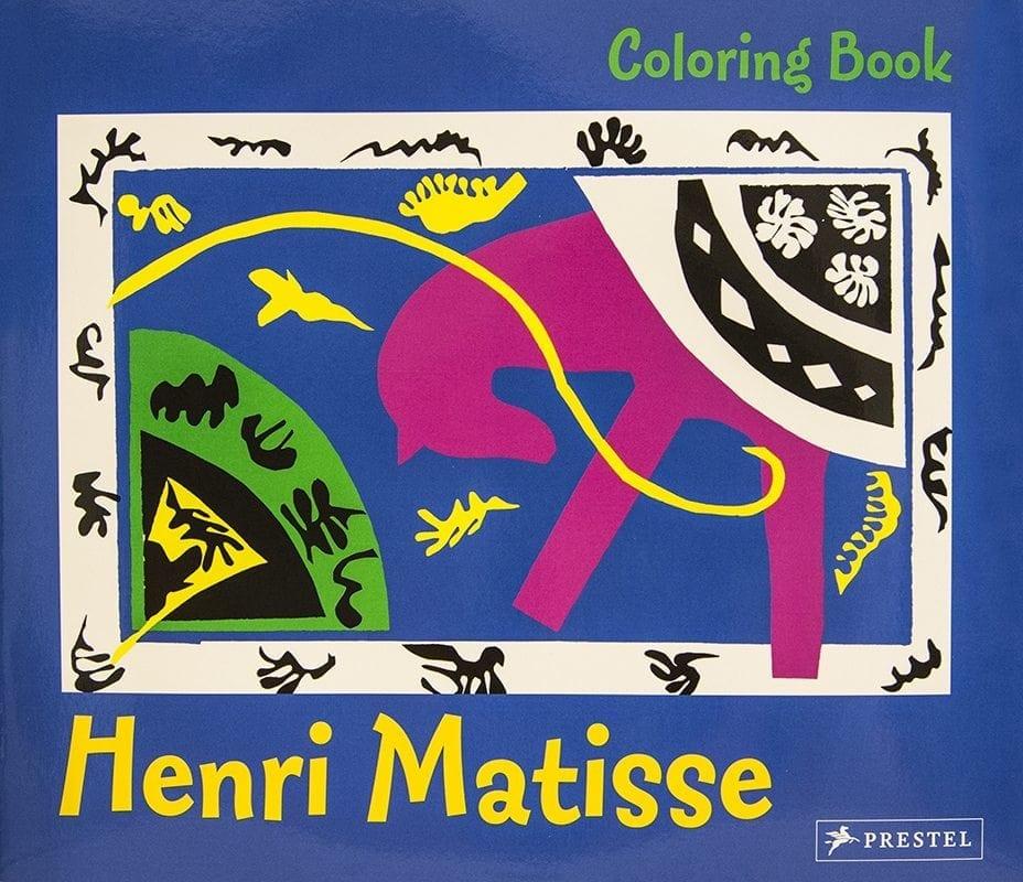 Matisse Coloring Book Malebog