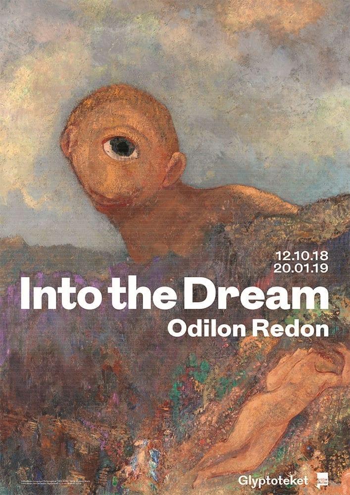 Odilon Redon Poster. Le Cyclope