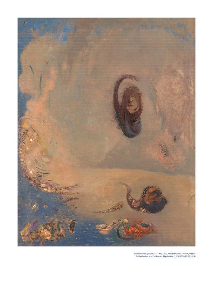 odilon Redon Poster. Oannes