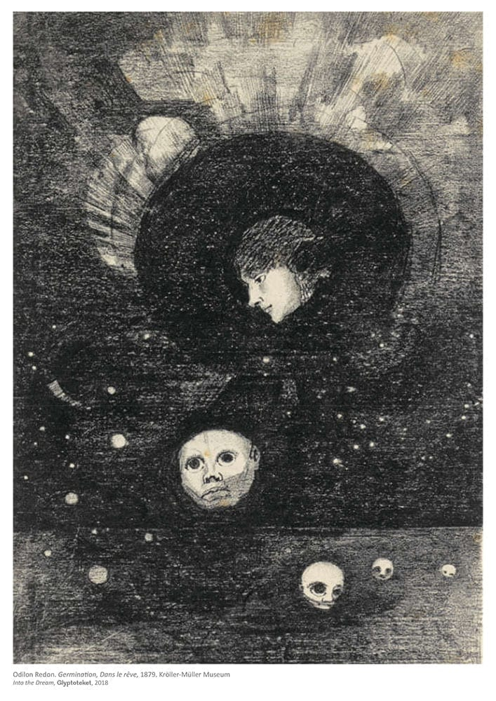 Germination. Odilon Redon Print
