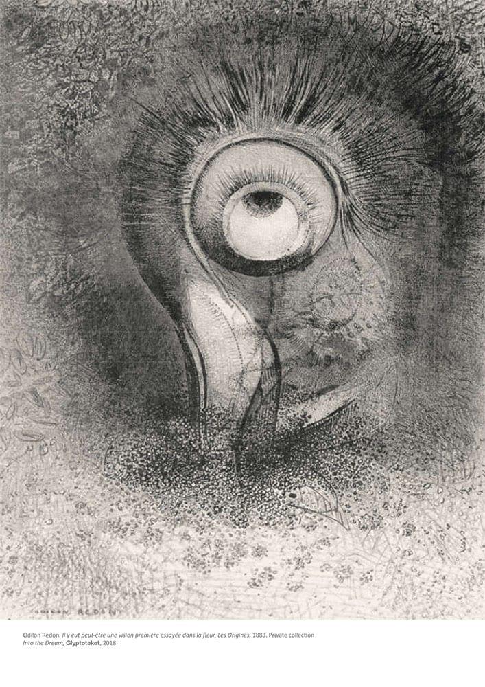 La Fleur. Odilon Redon Print