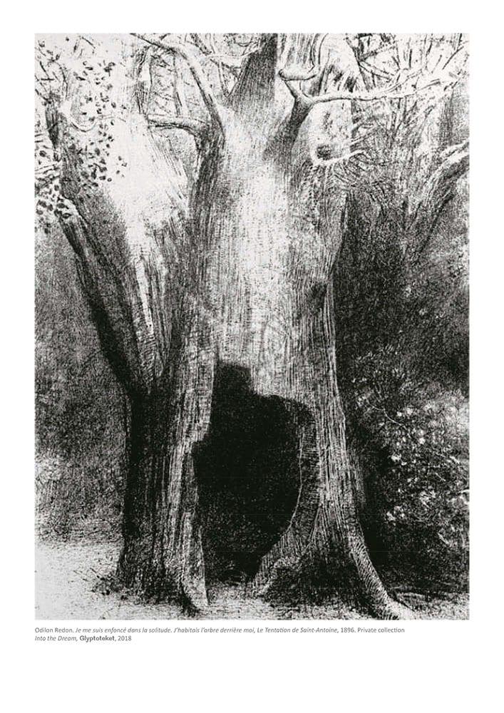 La Solitude. Odilon Redon Print
