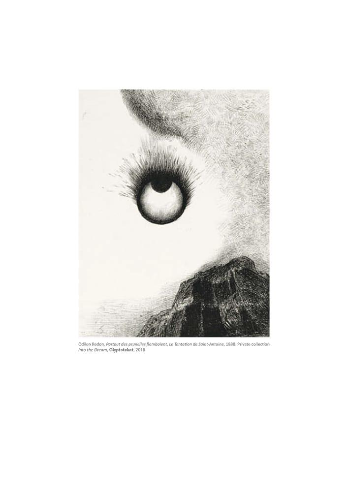 Prunelles Flamboient. Odilon Redon Print