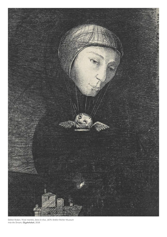 Triste Montee. Odilon Redon Print