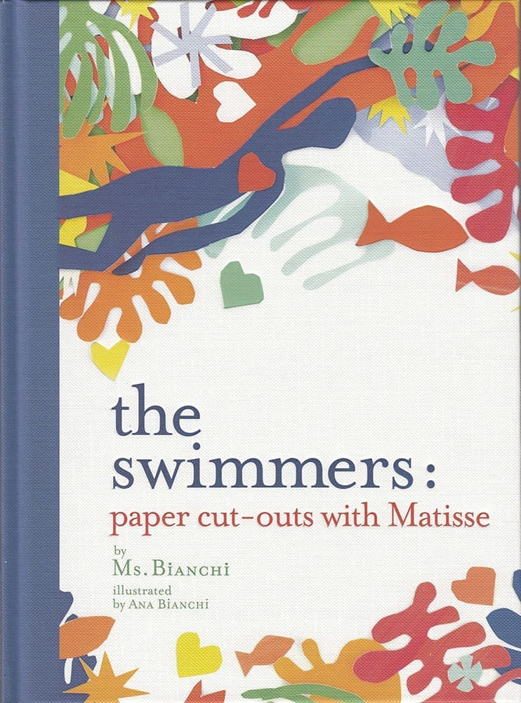 The Swimmers. Paper cut-outs with Matisse