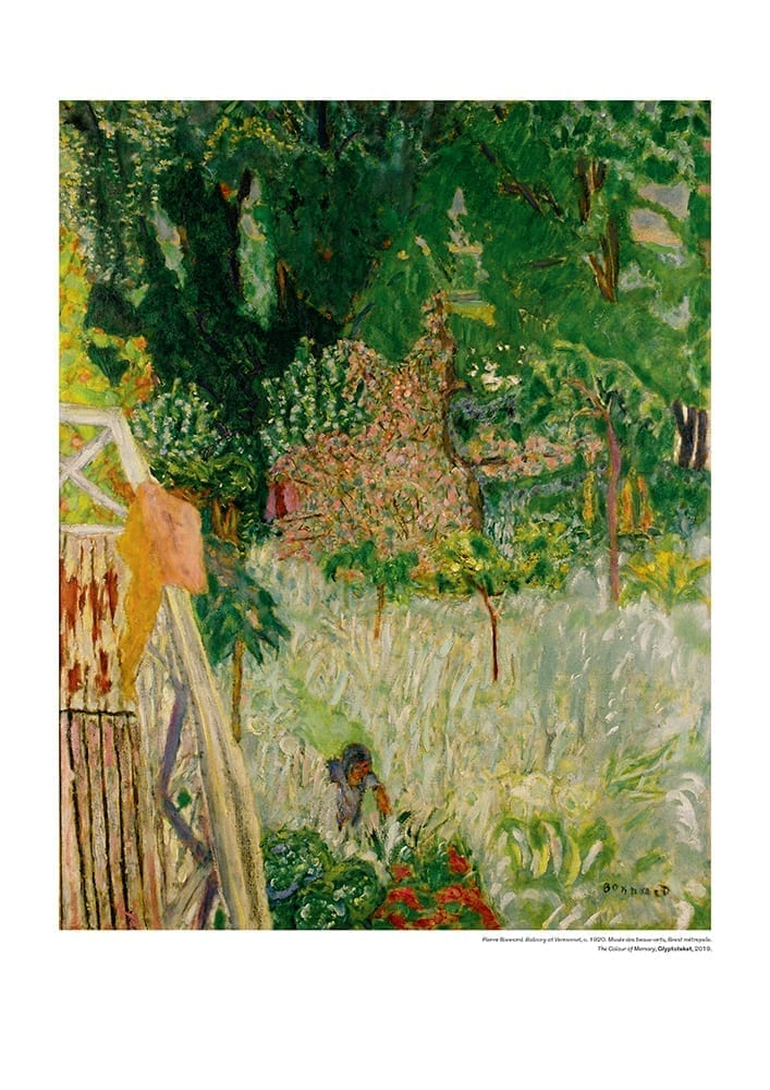 Balcony at Veronnet. Pierre Bonnard Print