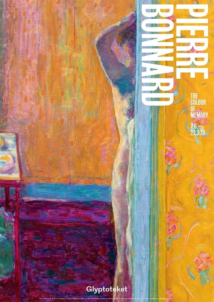 Nude in an Interior. Pierre Bonnard Print