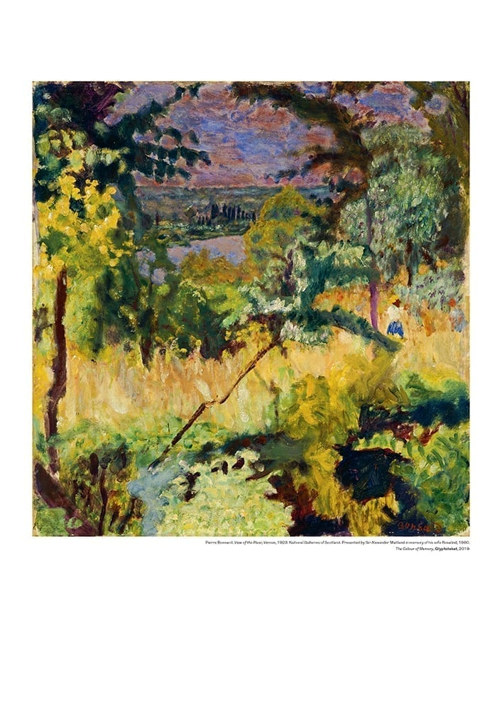 View of the River. Pierre Bonnard Print