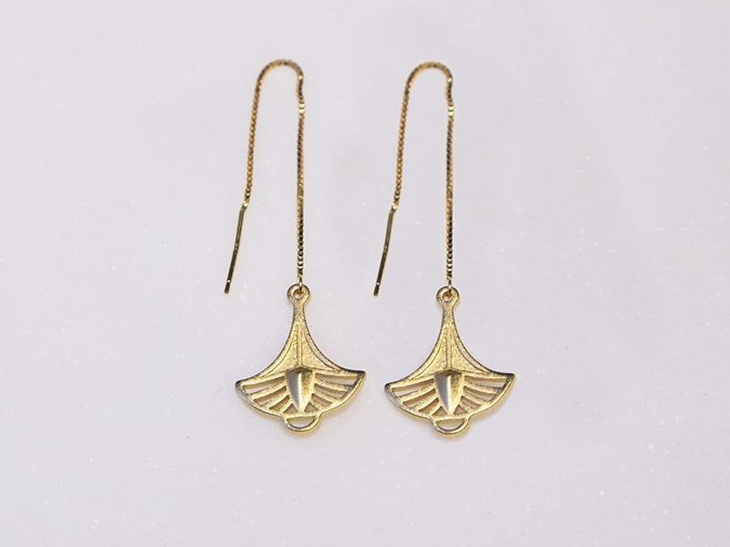 Papyrus Earrings