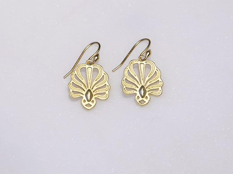 Palmette earrings