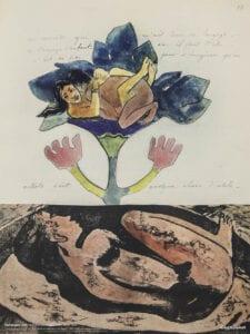 Gauguin Noa Noa print træsnit