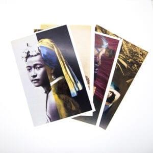 Yuki Kihara Postkort Glyptoteket